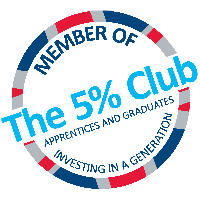 The 5% Club Logo 1