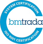 BM TRADA 9001 Cert