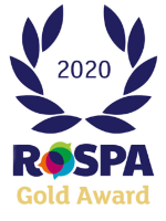RoSPA Gold Award 2020 Logo